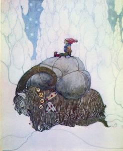 """Julbock"" by John Bauer"