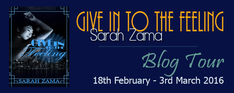 Give in to the feeling - Blog Tour